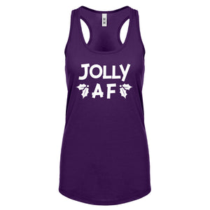 Jolly AF Womens Racerback Tank Top