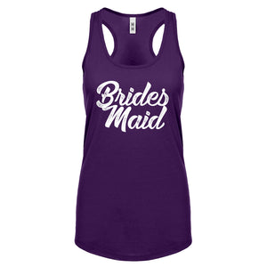 Racerback Bridesmaid Womens Tank Top