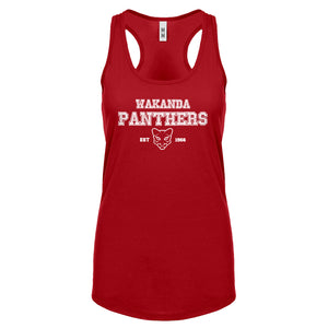 Racerback Wakanda Panthers 1966 Womens Tank Top