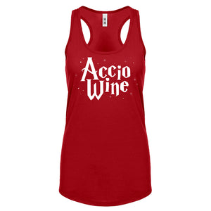 Racerback Accio Wine Womens Tank Top
