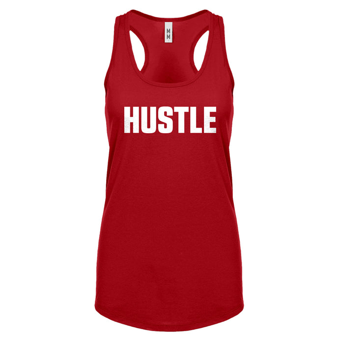 Racerback Hustle Womens Tank Top