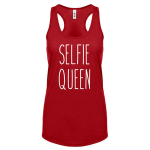 Racerback Selfie Queen Womens Tank Top