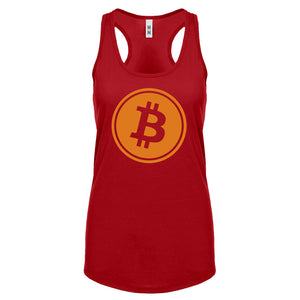 Racerback Bitcoin Womens Tank Top