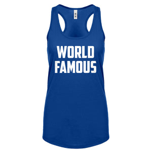 Racerback World Famous Womens Tank Top