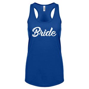 Racerback Bride Womens Tank Top