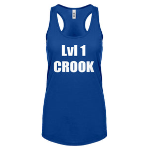 Lvl 1 Crook Womens Racerback Tank Top