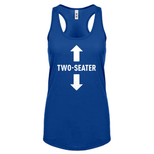 Two Seater Womens Racerback Tank Top
