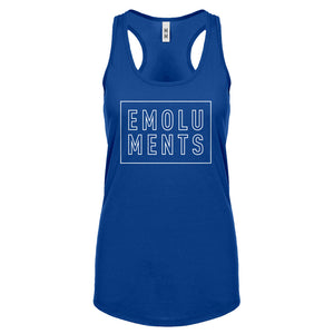 Racerback Emoluments Womens Tank Top