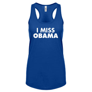 Racerback I Miss Obama Womens Tank Top