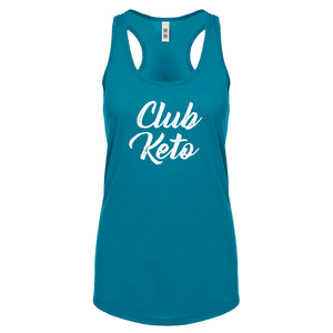 Racerback Club Keto Womens Tank Top