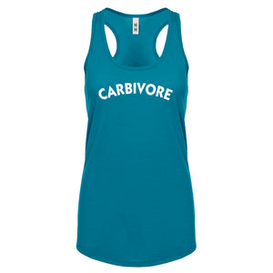 Racerback Carbivore Womens Tank Top