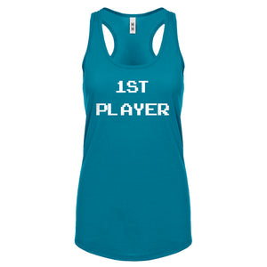 Racerback 1st Player Womens Tank Top