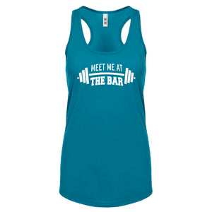 Racerback Meet me at the Bar Womens Tank Top