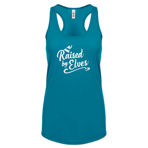 Raised by Elves Womens Racerback Tank Top