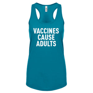 Racerback Vaccines Cause Adults Womens Tank Top