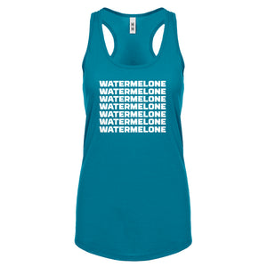 Racerback Watermelone Womens Tank Top