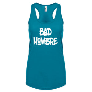 Racerback Bad Hombre Vote 2016 Womens Tank Top