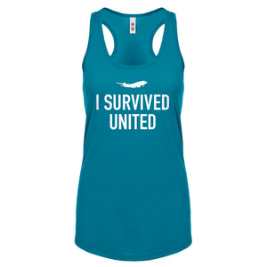 Racerback I Survived United Womens Tank Top
