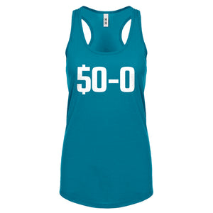 Racerback 50-0 Undefeated Womens Tank Top