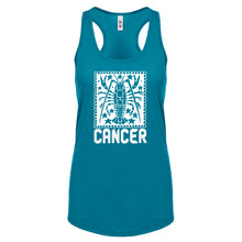 Racerback Cancer Zodiac Astrology Womens Tank Top