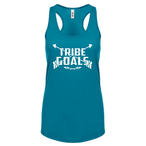 Racerback Tribe Goals Womens Tank Top