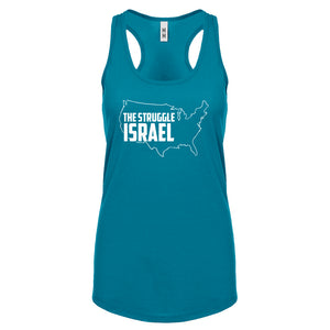 Racerback The Struggle Israel Womens Tank Top