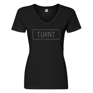 Womens TURNT Vneck T-shirt