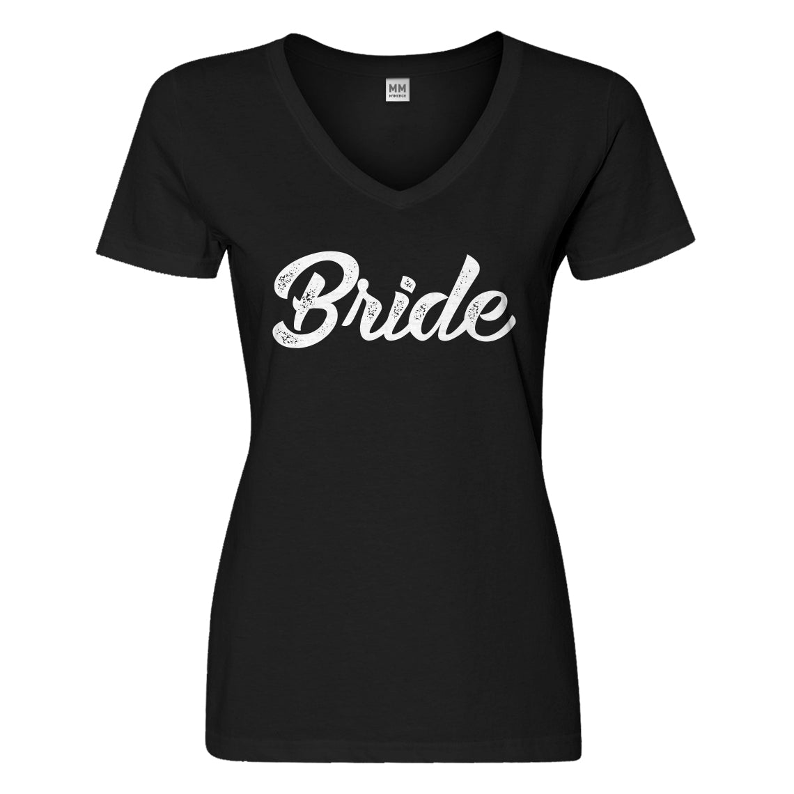 Womens Bride Vneck T-shirt
