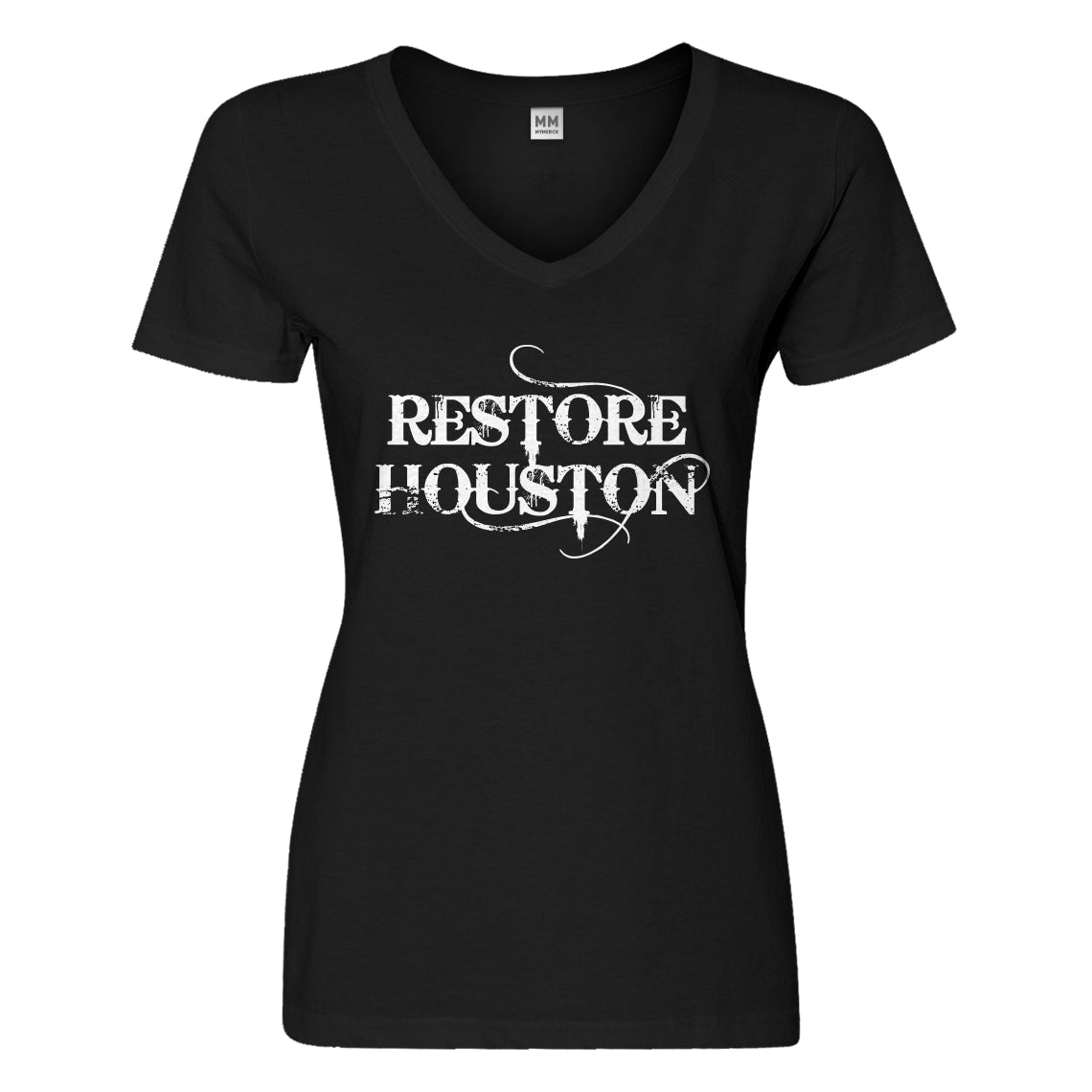 Womens Restore Houston Vneck T-shirt