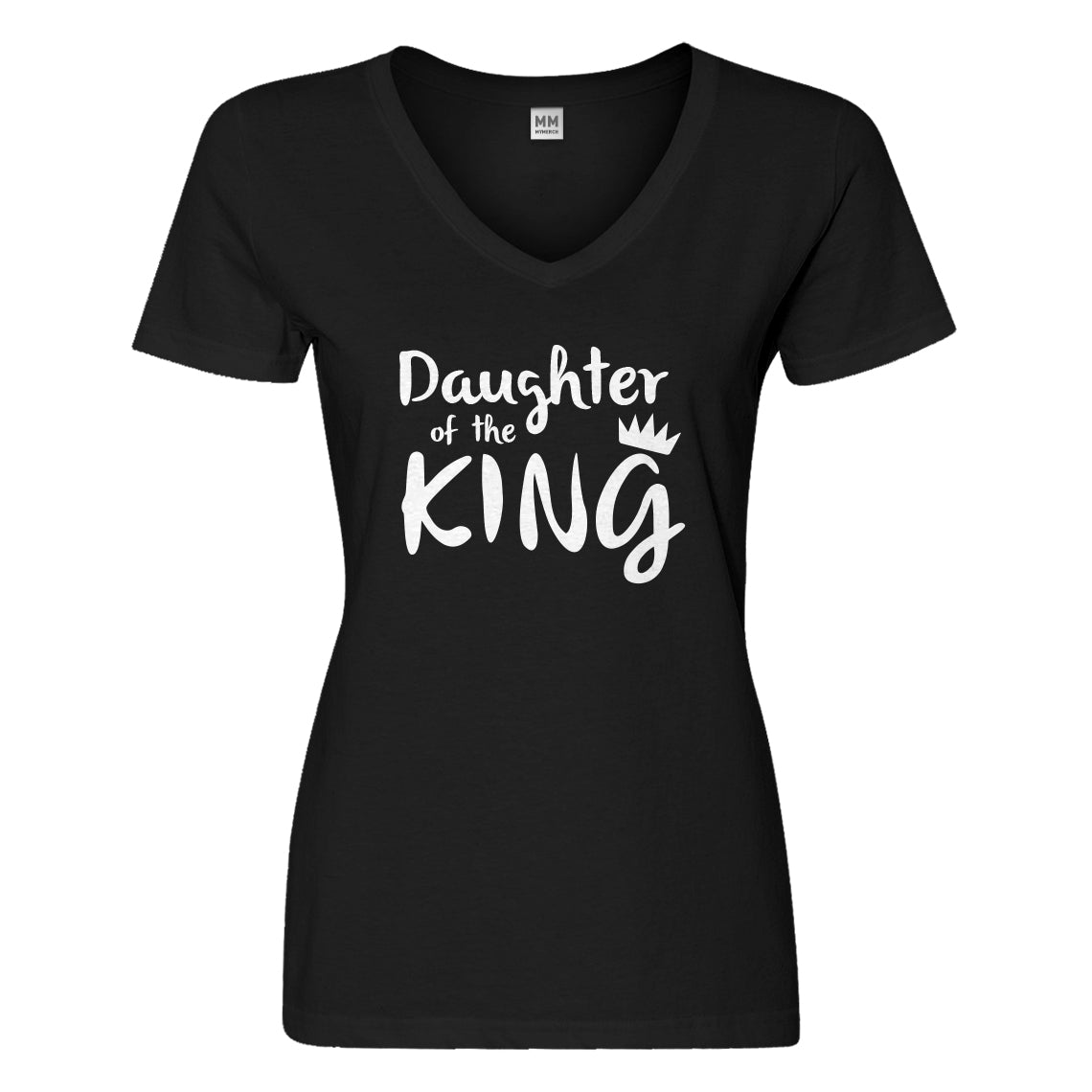 Womens Daughter of the King Vneck T-shirt