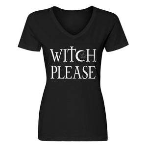 Womens Witch Please Vneck T-shirt