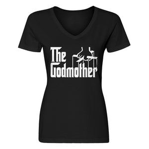 Womens The Godmother V-Neck T-shirt