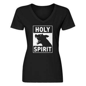 Womens Holy Spirit V-Neck T-shirt