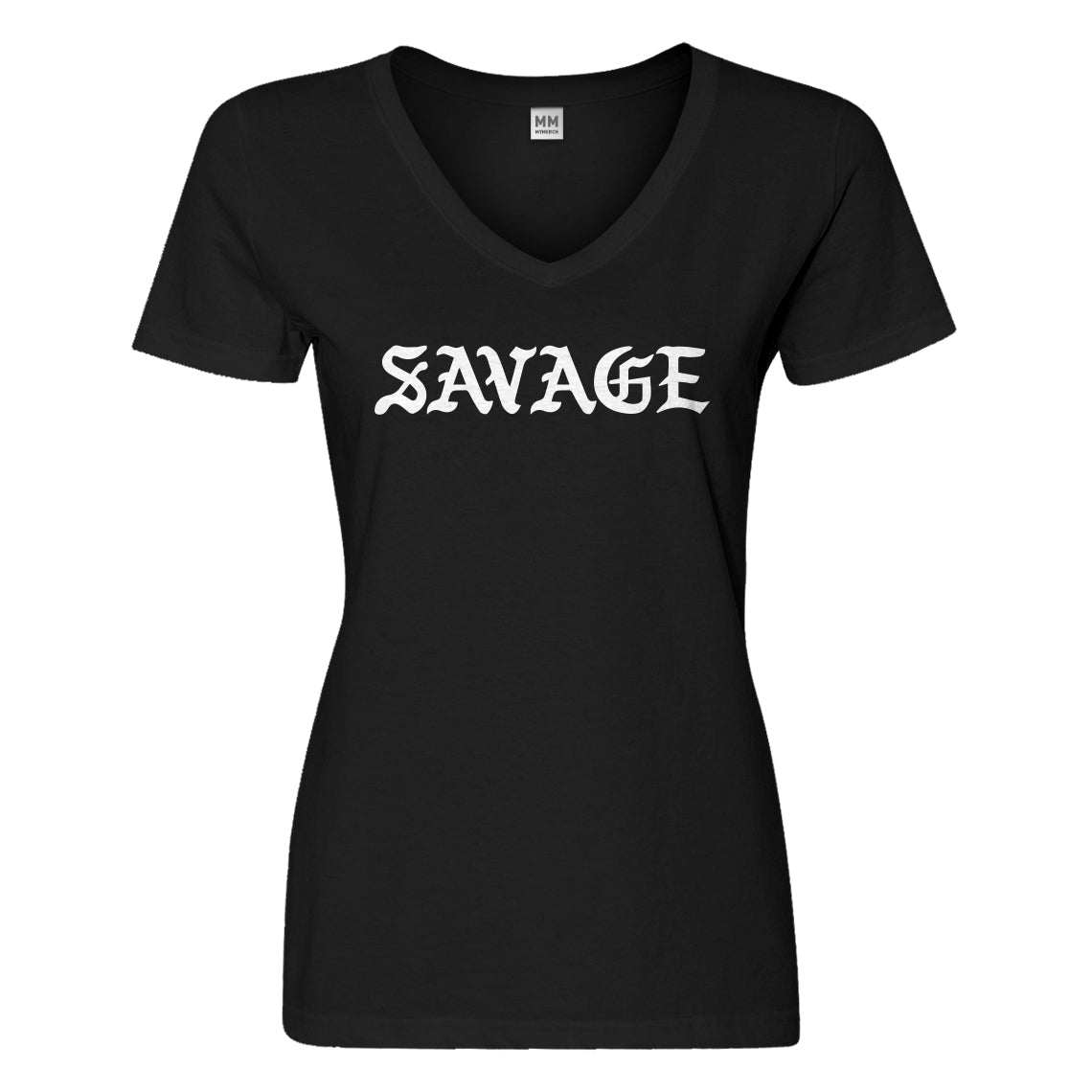 Womens Savage Vneck T-shirt