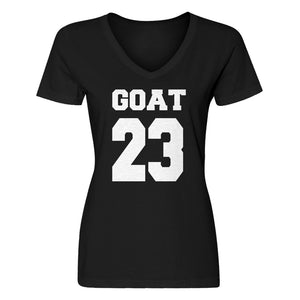 Womens Goat 23 Vneck T-shirt