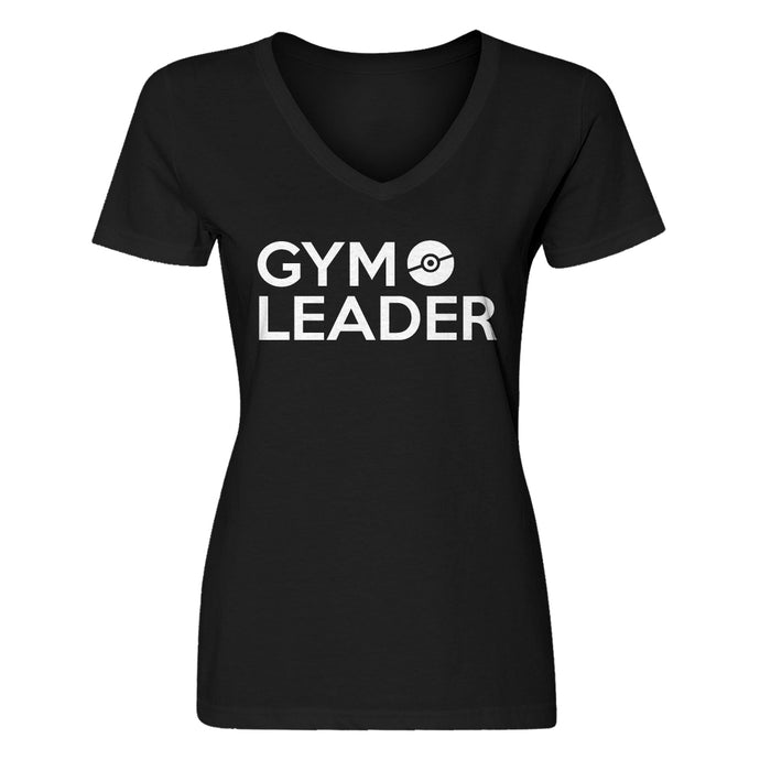 Womens Gym Leader Vneck T-shirt