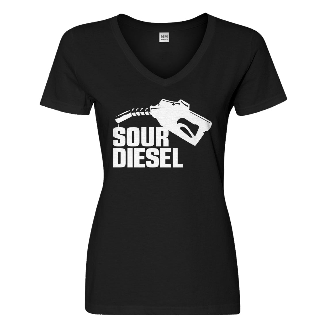 Womens Sour Diesel Vneck T-shirt