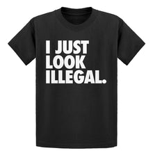 Youth Just Look Illegal Kids T-shirt