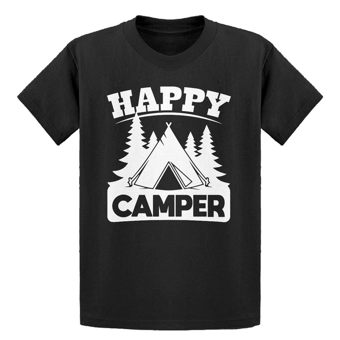 Youth Happy Camper Kids T-shirt