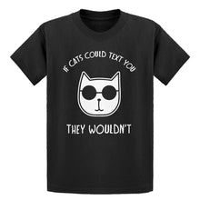 Youth If Cats Could Text Kids T-shirt
