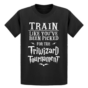 Youth Train for Triwizard Tournament Kids T-shirt