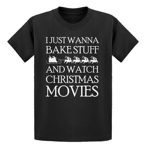 Youth Bake Stuff, Christmas Movies Kids T-shirt