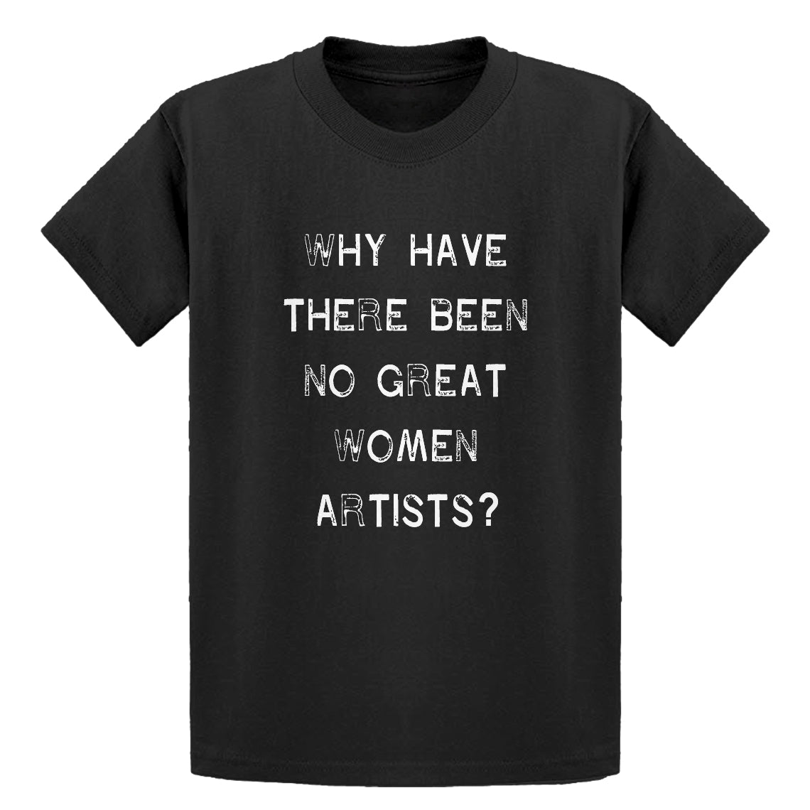 Youth No Great Women Artists Kids T-shirt