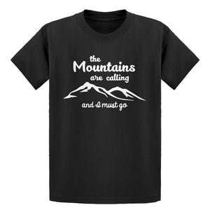 Youth The Mountains are Calling Kids T-shirt