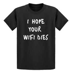 Youth I Hope Your Wifi Dies Kids T-shirt