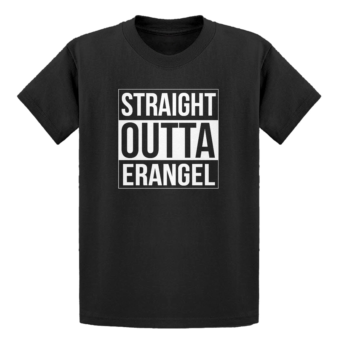 Youth Straight Outta Erangel Kids T-shirt