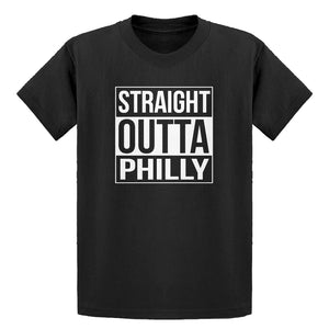 Youth Straight Outta Philly Kids T-shirt