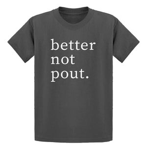 Youth Better Not Pout Kids T-shirt