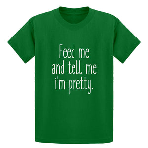 Youth Feed Me and Tell Me I'm Pretty Kids T-shirt