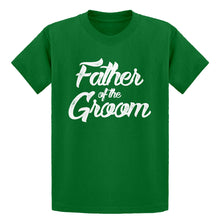 Youth Father of the Groom Kids T-shirt